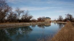 Подводящий канал Новотроицкой ГЭС