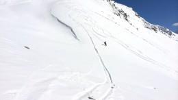 Домбай горнолыжник