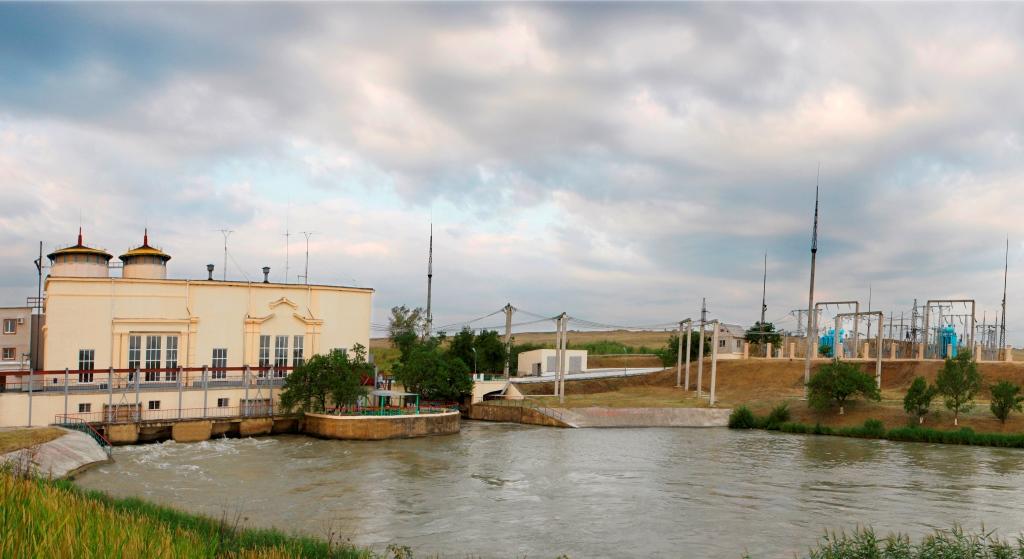 Свистухинская ГЭС. Фото А. Терелюк