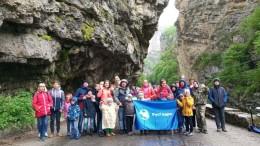 По дороге на Чегемские водопады