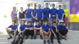 Юные герои акции Память на высоте